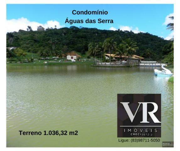 Terreno 1036 m2, em Bananeiras, melhor Condomínio Fechado, Anº 49