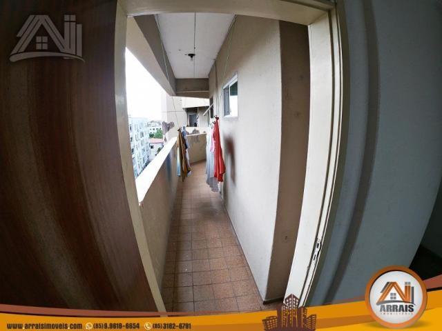 Vende apartamento com 3 quartos no bairro jacarecanga - Foto 13