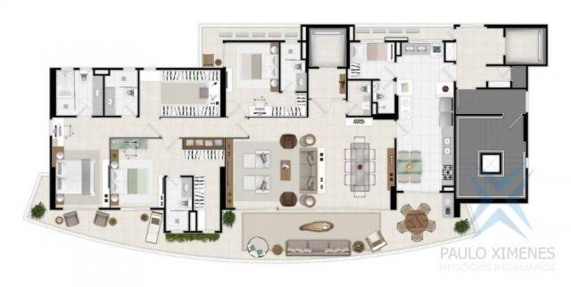 Apartamento com 4 dormitórios à venda, 219 m² por r$ 1.844.900 - aldeota - fortaleza/ce - Foto 8