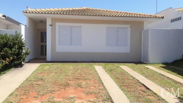 Casa em condomínio para locação em presidente prudente, condomínio residencial bosque dos