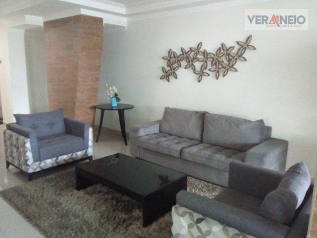 Apartamento com 2 dormitórios à venda, 73 m² por R$ 275.000 - Vila Guilhermina - Praia Gra - Foto 3