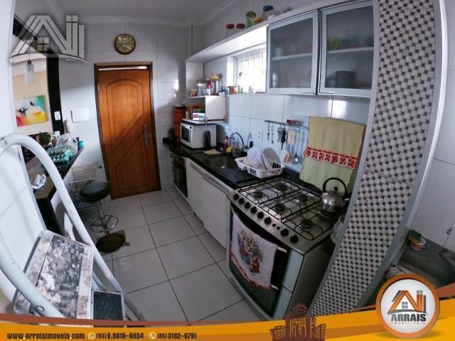 Vende apartamento com 3 quartos no bairro jacarecanga - Foto 7