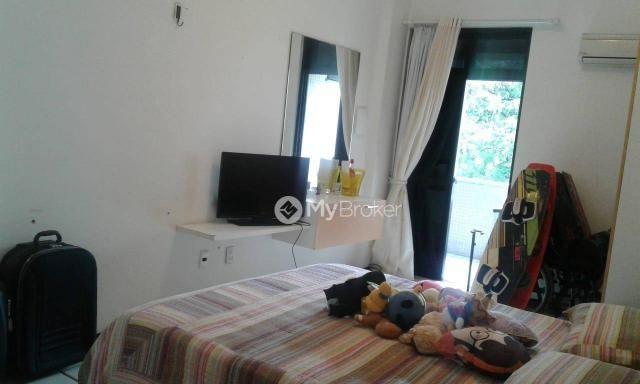 Amplo apartamento na aldeota 4 suítes, varandão - Foto 5
