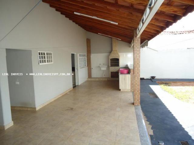 Casa para venda em presidente prudente, maracanã, 2 dormitórios, 1 suíte, 2 banheiros, 4 v - Foto 2