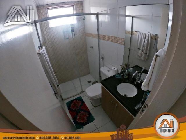 Vende apartamento com 3 quartos no bairro jacarecanga - Foto 9