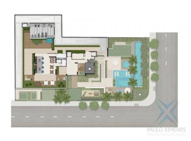 Apartamento com 4 dormitórios à venda, 219 m² por r$ 1.844.900 - aldeota - fortaleza/ce - Foto 4