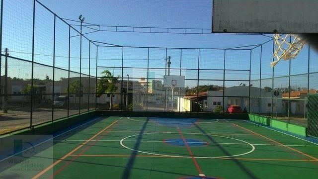 Casa Plana com Deck + Churraqueira + Chuveirão + Móveis projetados - 2 vagas - Pedras - Foto 19