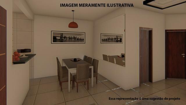 Residência de 70 m² c/ 2 quarto - Jardim Novo Bongiovani - Foto 13