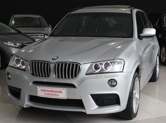 BMW X3 2012/2012 3.0 35I M SPORT 4X4 24V GASOLINA 4P AUTOMÁTICO