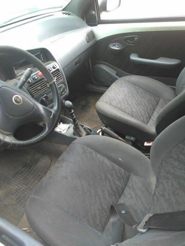 Vendo Fiat Strada, gabine estendida, Fire 1.3, Branca, alarme, vidro e trava, 2003-2004 - Foto 7