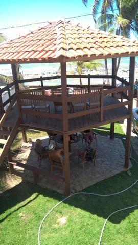 Vendo uma formosa casa, defronte ao mar, em JAUÁ (pé na areia) Valor R$450.000,00 - Foto 9