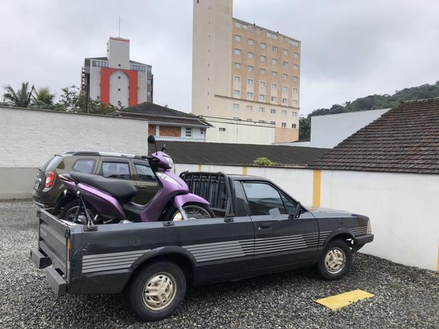 Pampa 91 1.8 ap 3 lugares e GNV legalizado troco moto - Foto 7