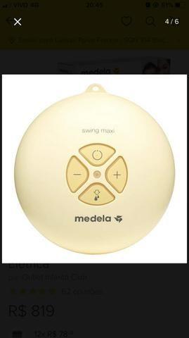 Extrator bomba de leite materno swing Medela - Foto 4