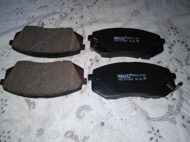 Pastilhas de freio traseiro marca Mando para IX35