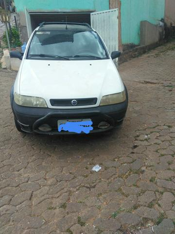 Vendo Fiat Strada, gabine estendida, Fire 1.3, Branca, alarme, vidro e trava, 2003-2004 - Foto 4
