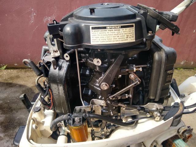Johnson 35 hp 2001 funcionando - Foto 2