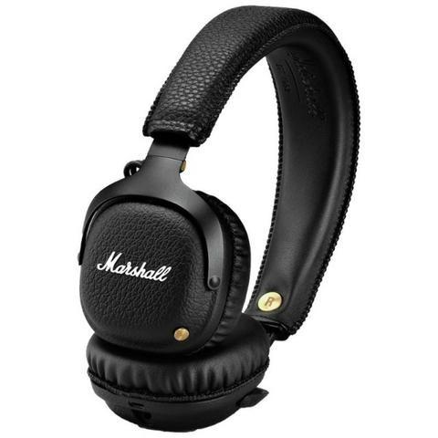 Fone de Ouvido Marshall Mid Ear 04091742 Bluetooth Preto