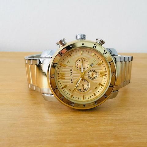 2c94d5b6b20 Relógio Bvlgari Iron Man Ouro - Bijouterias