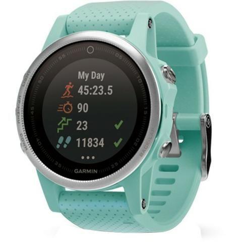 0b59dd71762 Relógio GPS Garmin Fênix 5S 42mm 010-01685-43 - Bijouterias ...