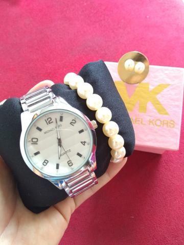 Kit relógio feminino promoção - Bijouterias, relógios e acessórios ... bdb4d845a9
