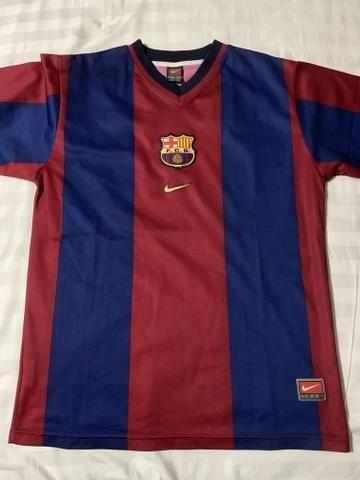 92d6cfde9c Camisa retrô do barcelona original - Esportes e ginástica - Meireles ...