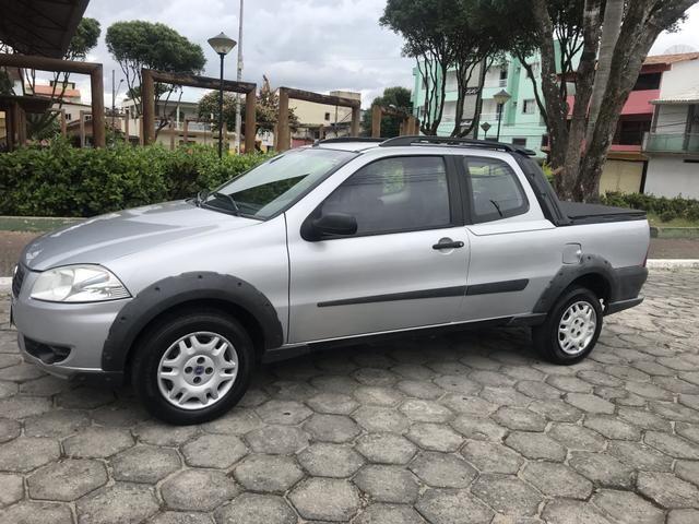 Fiat Strada 2010 Cabine Dupla - Aceito Troca