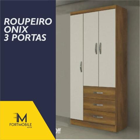Roupeiro Ônix 3 Portas ( Entrega Grátis) - Foto 5