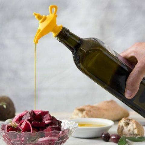Tampa e Dispenser Dosador para garrafa Lâmpada Aladim