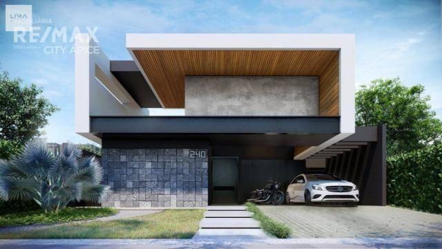 Casa térrea com 3 suítes - Alphaville 2 - Campo Grande/MS