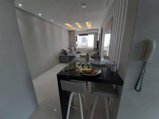 Apartamento com 2 dormitórios à venda, 60 m² por R$ 350.000 - Coqueiros - Florianópolis/SC - Foto 5