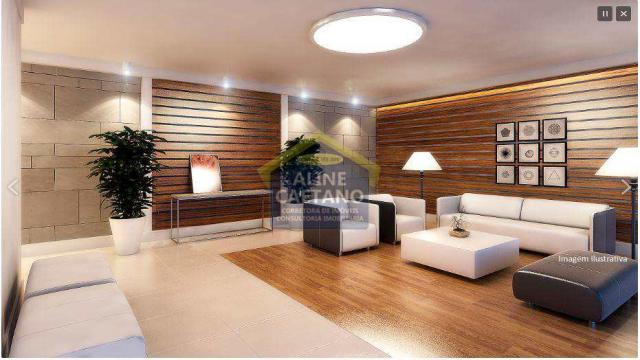 Apartamento à venda com 2 dormitórios em Guilhermina, Praia grande cod:JG07477 - Foto 3