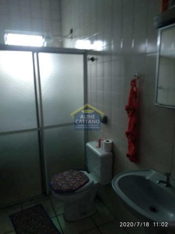Casa à venda com 2 dormitórios em Tupi, Praia grande cod:AC763 - Foto 11