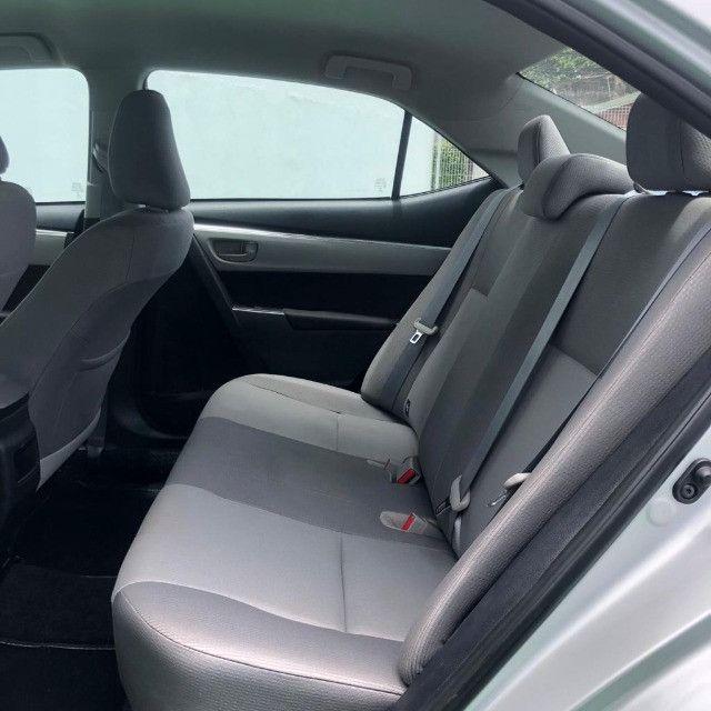 Corolla Gli 1.8 Aut. 2018 Prata Completo - Foto 9