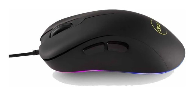 Mouse Gamer Com Fio Dazz Fps Series RGB 12000 DPI - Loja Natan Abreu - Foto 2