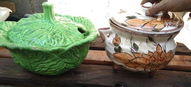 Sopeira  porcelana antiga  - Foto 3