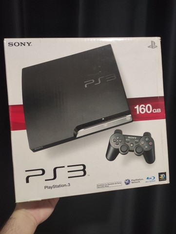 PlayStation 3 ps3 bloqueado seminovo na caixa
