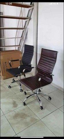 Cadeiras para escritório e Reformas de cadeiras - Foto 4