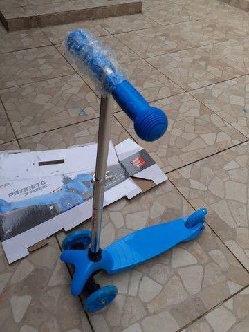 Patinete scooter infantil 3 rodas - Foto 3