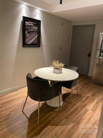 Apartamento térreo com área externa, 71m², projetados e com piscina privativa a beira mar  - Foto 3