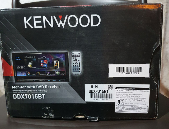 Central Multimidia KENWOOD DDX7015BT - Foto 5