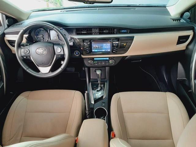 Toyota Corolla Sedan Altis Automático 2017 Emplacado 2021 Toyota - Foto 5