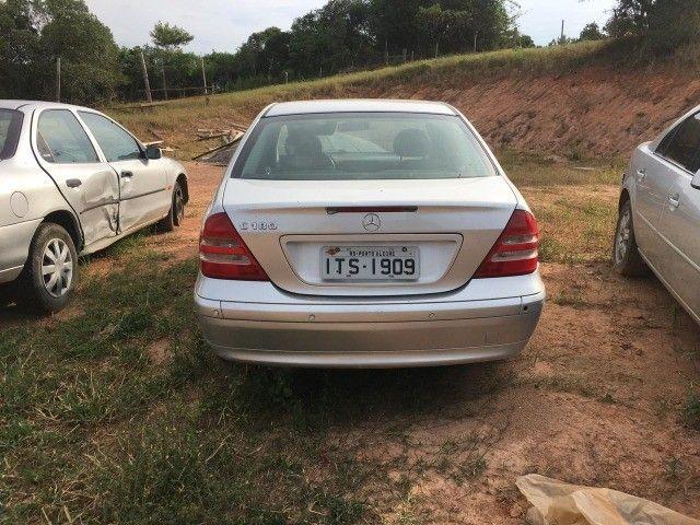 Mercedes bens c180 01/02 peças - Foto 6