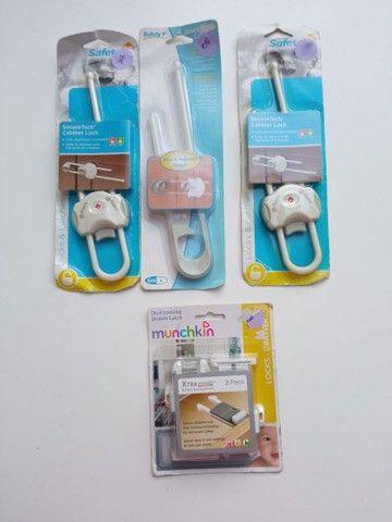 Travas de armários e gaveta para bebês - Foto 2