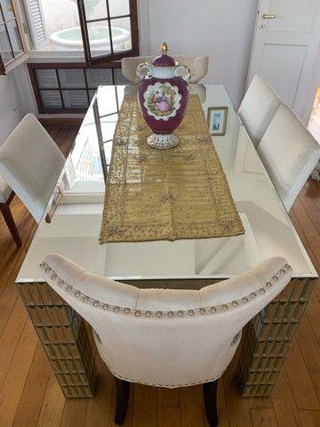 Mesa de Jantar Espelhada - Foto 2