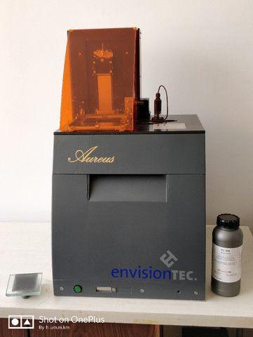 Impressora 3d Joias. Envisiontec Perfactory Aureus