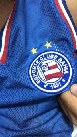 Camisa do Bahia imbuí tricolor