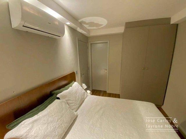 Apartamento térreo com área externa, 71m², projetados e com piscina privativa a beira mar  - Foto 8