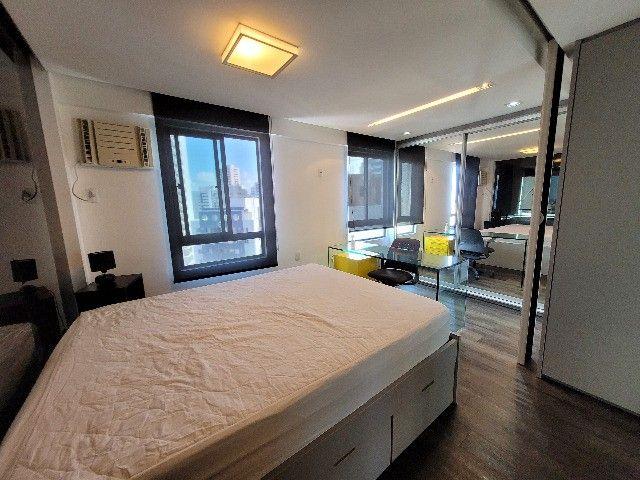 BFN - Luxuoso flat finamente decorado em Boa Viagem com 51m² e piscina na cobertura!  - Foto 6