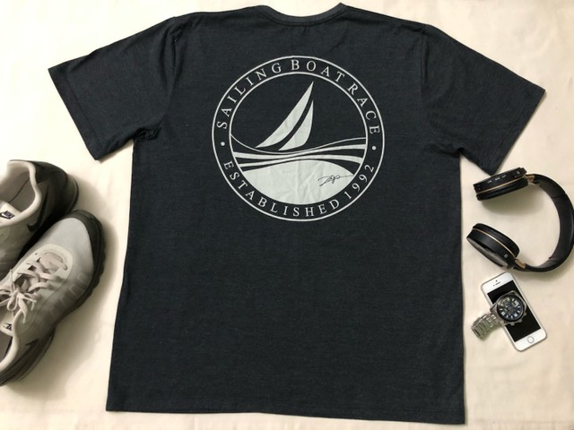 Camisa T-Shirt Cinza Masculina ZIP NAUTICA  - Foto 6