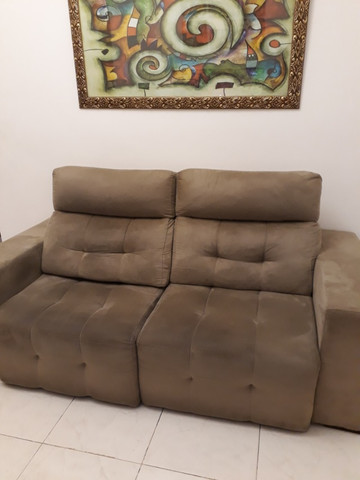 Sofa retrátil reclinável - Foto 2